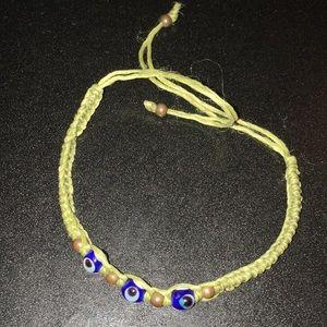 Jewelry - Evil eye woven bracelet